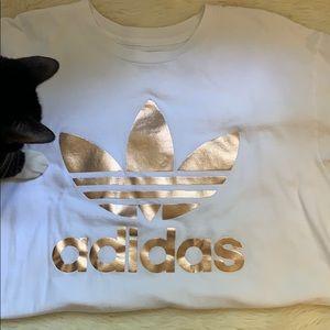Rose Gold Adidas Shirt